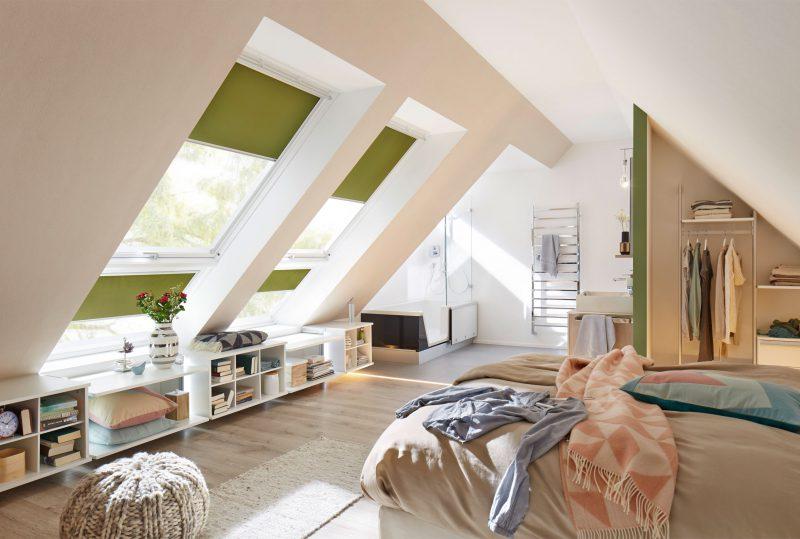 Dachboden zum Dachstudio ausbauen